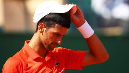 Джокович знову відмовився здати тест на COVID-19: тенісист заразився на власному турнірі