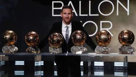 """Роналду випередив аргентинця: Мессі вилетів із претендентів на """"Золотий м'яч"""""""