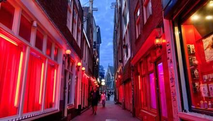 Секс-працівники Амстердаму змінили перелік своїх послуг через коронавірус