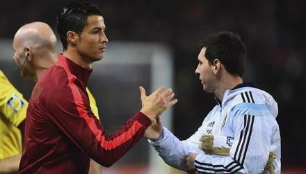 Мессі чи Роналду: хто забив найбільше голів у 21 столітті
