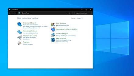 """В Windows 10 начали избавляться от """"Панели управления"""""""
