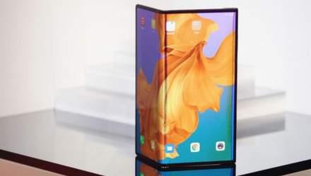 Huawei запатентувала гнучкий смартфон в новому форм-факторі