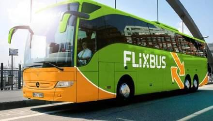 FlixBus запускает внутренние автобусные рейсы в Украине: детали