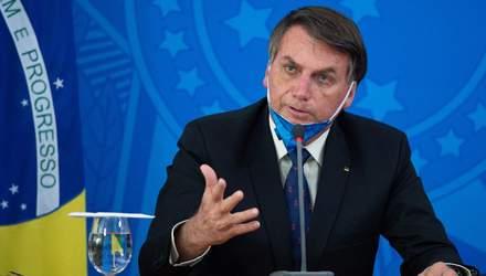 У президента Бразилії Болсонару виявили коронавірус