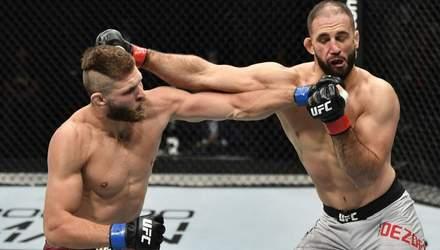Видовищна перемога: Прохазка жорстко нокаутував суперника у дебютному бою UFC – відео