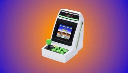 Sega представила мініатюрний ігровий апарат Astro City Mini