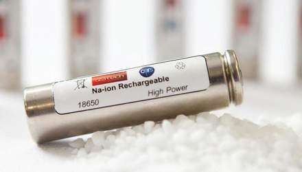 Натрій може прийти на зміну літію в акумуляторах: що це означає і чому це добре