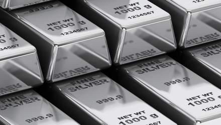 Срібло подорожчало до максимуму у 2020: скільки коштує метал