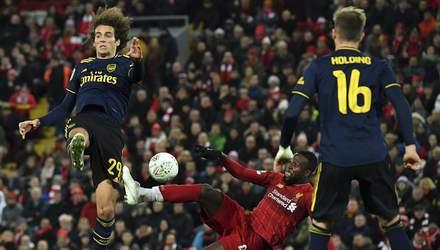 Арсенал – Ліверпуль: онлайн-трансляція топ-матчу АПЛ