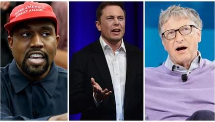 Twitter Маска, Веста і ще пів сотні знаменитостей зламали хакери
