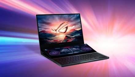 ASUS представил геймерский ноутбук с двумя экранами ROG Zephyrus Duo 15: продажи стартовали