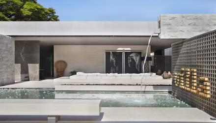 Дом без окон: фото роскошной виллы открытого типа из Бразилии