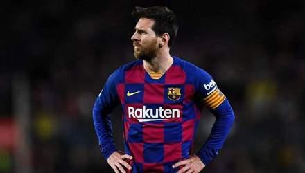 """""""Барселона"""" – слабкий клуб: лідер Мессі емоційно відреагував на гру команди"""