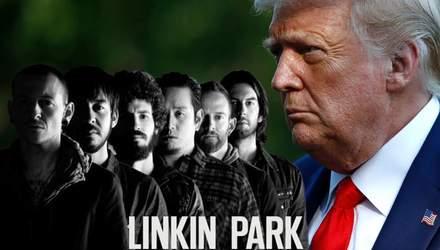 Представители Linkin Park пожаловались на сообщение Трампа в Twitter, видео заблокировали