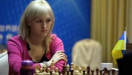 Українка Ушеніна феєрично перемогла російську шахістку