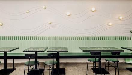 Зелений туалет та кам'яний бар: у Ванкувері відкрили ресторан з пляжним інтер'єром – фото