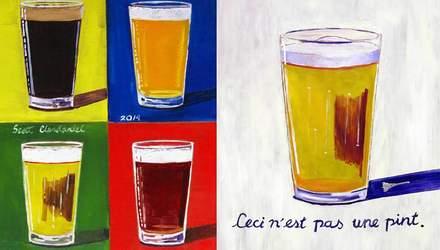 Якби Пікассо, Ван Гог та Моне малювали пиво: новий погляд на полотна відомих митців