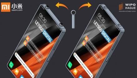 Xiaomi запатентовала смартфон с кармашком для наушников