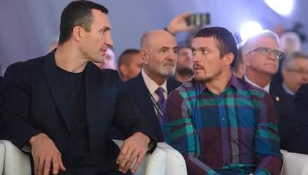 Усик готов уйти от промоутерской компании Кличко