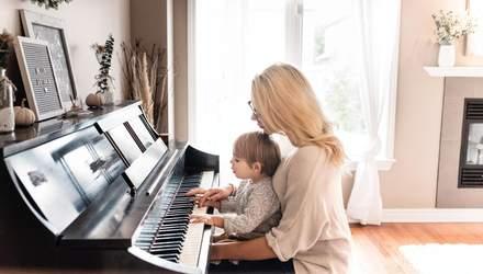 Чи впливають заняття музикою на розум дитини