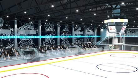 Как будет выглядеть новая ледовая арена во Львове: визуализация