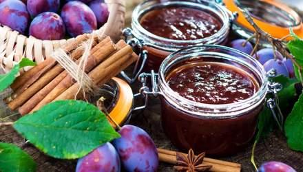 Варення зі слив: прості покрокові рецепти
