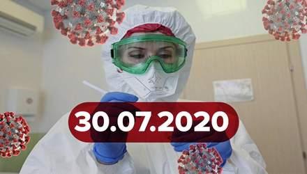 Новости о коронавирусе 30 июля: антирекорд в Украине и ахиллесова пята генома вируса