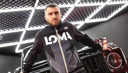 Ломаченко відповів на звинувачення Лопеса та опублікував відео тренування з України