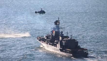 Зрелищные военные учения Sea Breeze-2020 прошли несмотря на пандемию: впечатляющие фото, видео