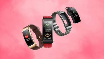 Huawei розробила смарт-браслет, який можна носити на вусі