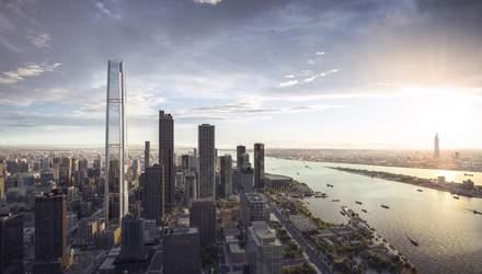 500 метров стекла: в Китае построят грандиозный небоскреб с оригинальным названием