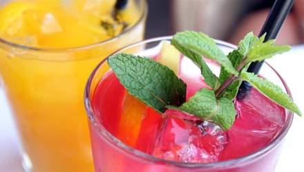 Літні безалкогольні коктейлі, які втамують спрагу