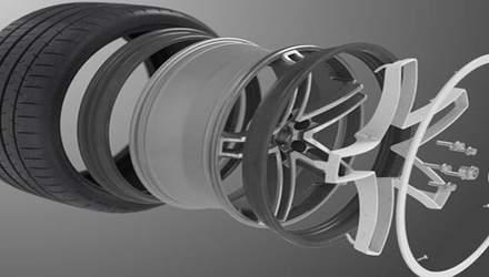 Гибкие диски, которые не боятся ям: что известно о новинке от Michelin и Maxion Wheels