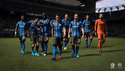 """""""Мілан"""" та """"Інтер"""" будуть ексклюзивно представлені у FIFA 21"""