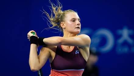 Українка Ястремська драматично вийшла в 1/8 фіналу турніру в Італії: відео