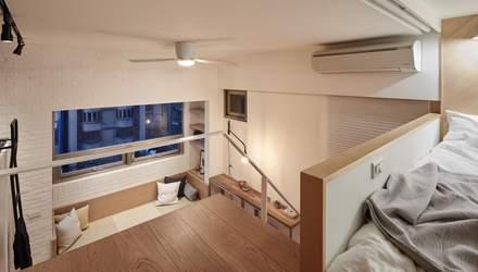 В лучших традициях хюге – в Тайване подготовили проект уютной двухуровневой квартиры: фото