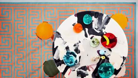 Смесь цветов и средиземноморский стиль: в Лондоне представили коллекцию ковров – фото