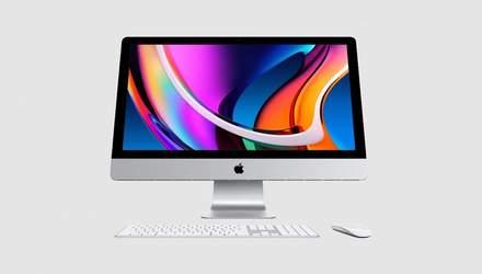 Apple оновила 27-дюймовий iMac: нові процесори й графіка, SSD та True Tone