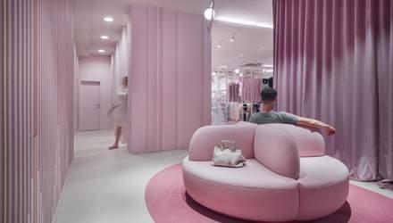 50 оттенков розового: интерьер магазина из Словении, который влияет на психику – фото