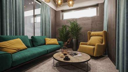 Бетон, скло та дерево: стильна концепція нового офісу компанії LEV Development – фото