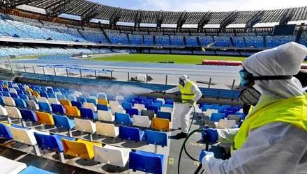 Катастрофічні наслідки: ВООЗ не можуть дозволити вболівальникам повернутись на стадіони
