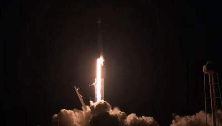 SpaceX запустила ракету Falcon 9: на орбіту вивели 57 супутників Starlink – відео