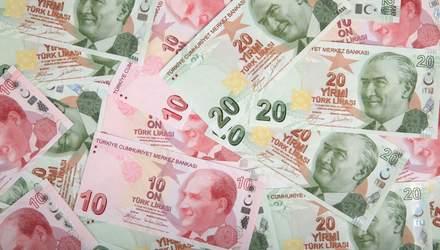Турецкая лира рекордно упала, достигнув исторического минимума