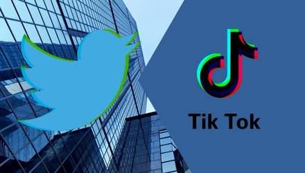 Twitter и TikTok могут объединиться в один сервис в США