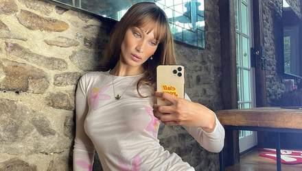 З підтягнутим пресом: американську модель Беллу Хадід сфотографували папараці