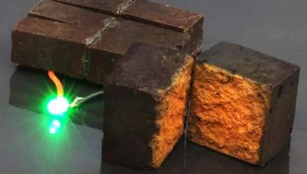 Исследователи превратили обычный кирпич в батарейку, чтобы сохранять и передавать энергию