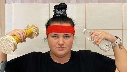 Похудевшая Alyona Alyona показала, как сбрасывает килограммы в тренажерном зале – фото