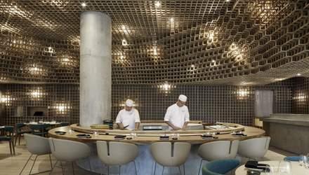 Японське столярне мистецтво: в Маямі відкрився ресторан з незвичним інтер'єром – фото