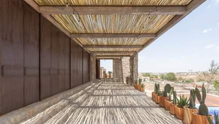 Каміння над піском: в Мексиці з'явився стильний будиночок в етнічному стилі – фото