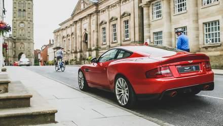 Экс-дизайнер Jaguar показал усовершенствованный Aston Martin Vanquish: эффектные фото